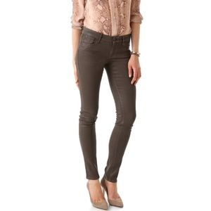 Habitual Coated Alice Skinny Jeans in Chocolate